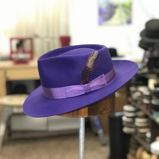 Purple Zoot Suit Hat