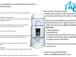 Filter Pots- Now renting