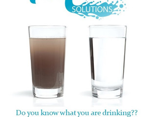 Know what's in your drinking water
