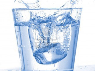 What happens to the minerals in water, that we drink ?