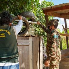 Aedes aegypti - Mais de 2 mil imóveis são visitados com apoio de militares do Exército Brasileiro
