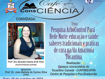 ArboControl Pará convida para a live Café ConsCiência
