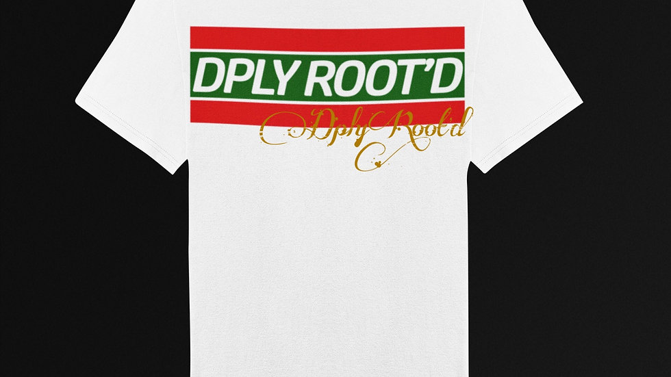 "dplyROOT'D ""Gucci Inspired"" Shirt WHITE"