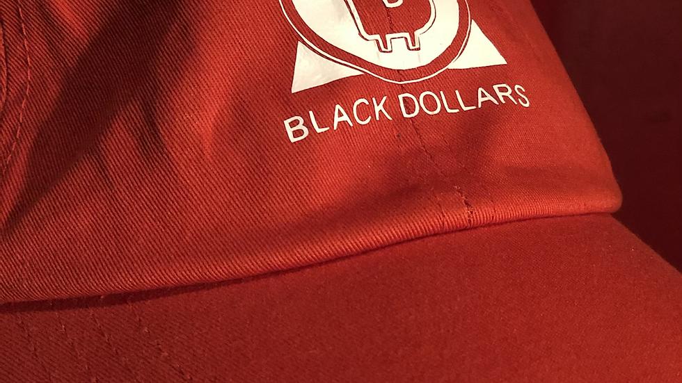 BLACK DOLLARS Dad Hat