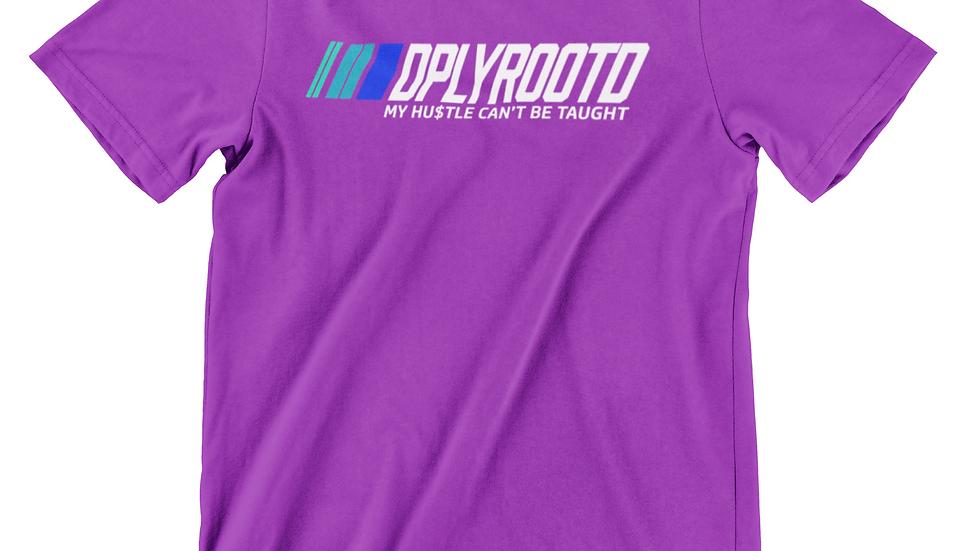 DPLY ROOT'D Motorsport Tshirt Purple
