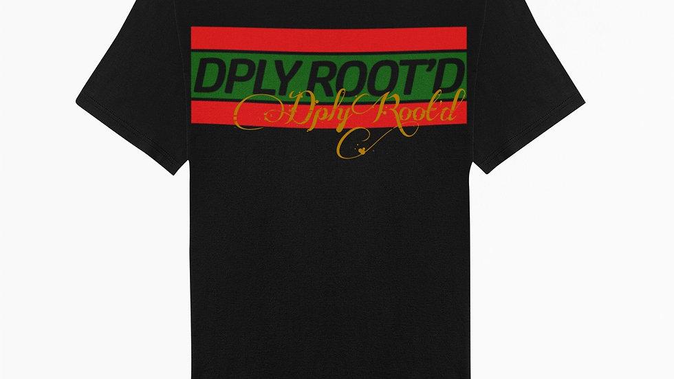 "dplyROOT'D ""Gucci Inspired"" Shirt BLACK"