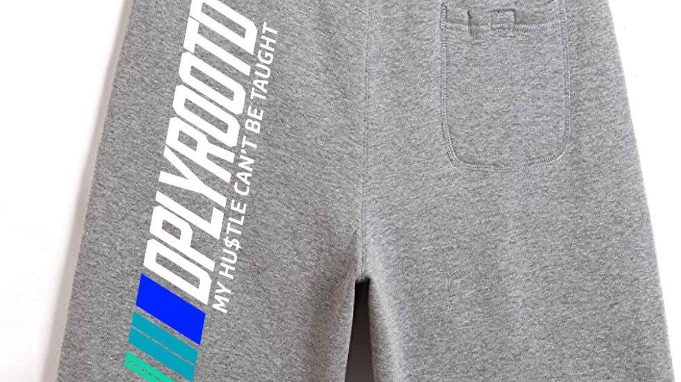 DPLY ROOT'D Motorsport Shorts Grey