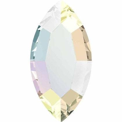 2200 Swarovski® Hotfix Crystals Flatback Navette
