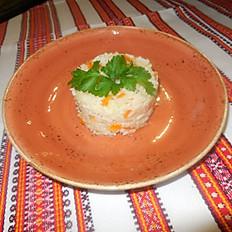 Рис тушёный с овощами