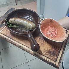 Колбасы натуральные жареные