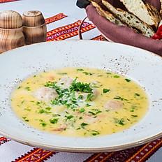Суп с фрикадельками из сёмги