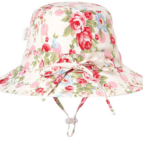 Toshi meadow lilly sun hat wide brim