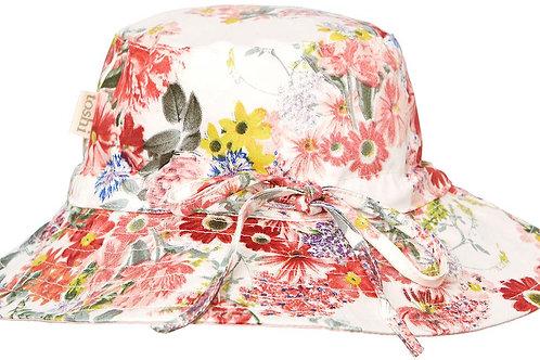 Toshi sun hat tropicana jasmine extra wide brim
