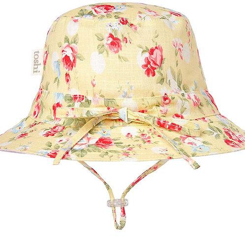 Toshi sun hat meadow buttercup wide brim