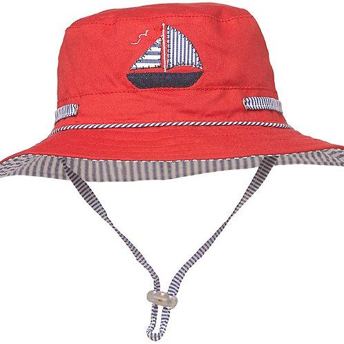 Toshi sun hat nautical wide brim