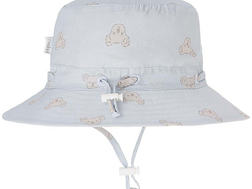 Toshi sun hat koala pebble wide brim