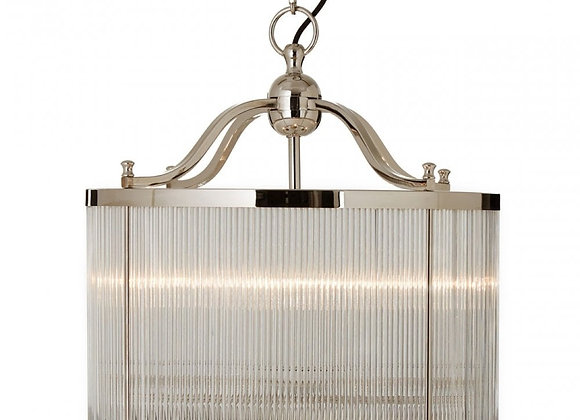 KENSINGTON PENDANT WITH FURROWED GLASS