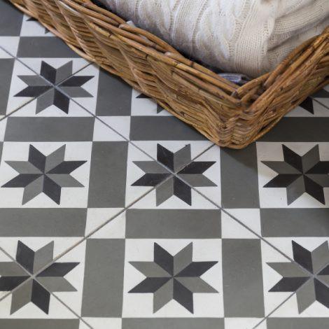 Patterened Floor Tiles