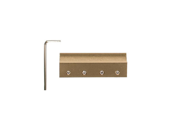 Rail Connector Kit Brass