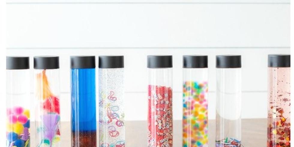 Wellness Wednesday: Hide 'N Seek Sensory Bottles