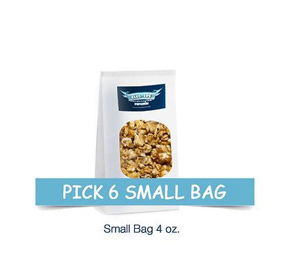 6 Small Bags $25.00 / $5.00 Savings