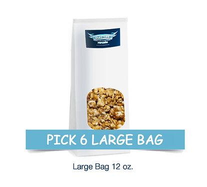 Pick 6 Large Bags $12.00 Savings