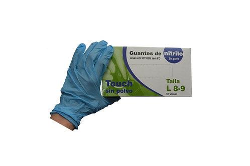 Guantes de nitrilo sin polvo