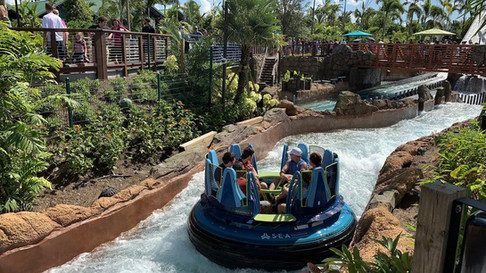 Infinity Falls Rapids Attraction