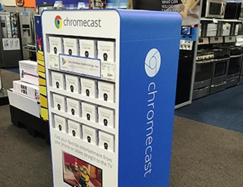 Chromecast Retail Fixtures