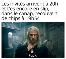 Copie de Witcher Geralt invités