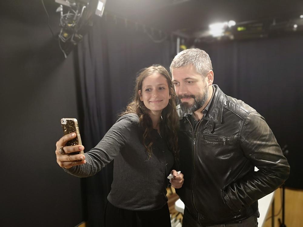 L'obligatoire selfie de fin d'épisode