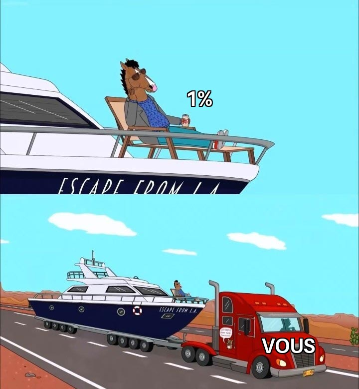 Copie de Bojack On His Boat 1%
