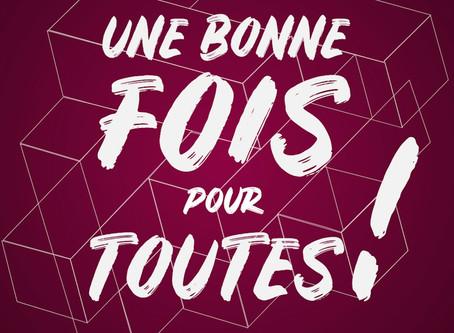 """INVITÉ DANS L'EXCELLENT PODCAST """"UNE BONNE FOIS POUR TOUTES"""""""