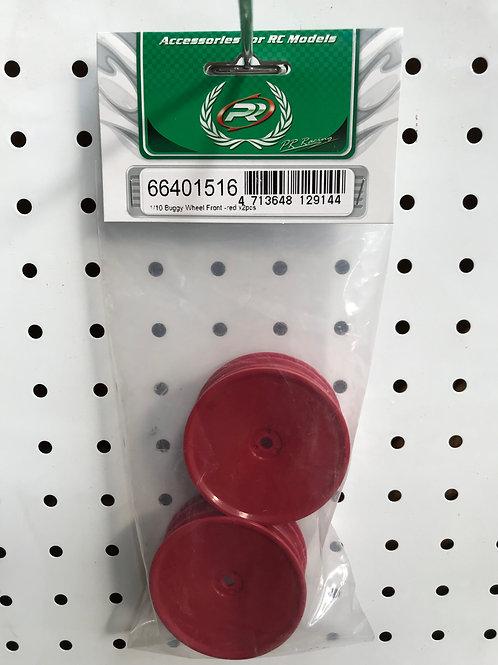 PR66401516 Buggy Front Wheel Wide 12mm Hex - Red