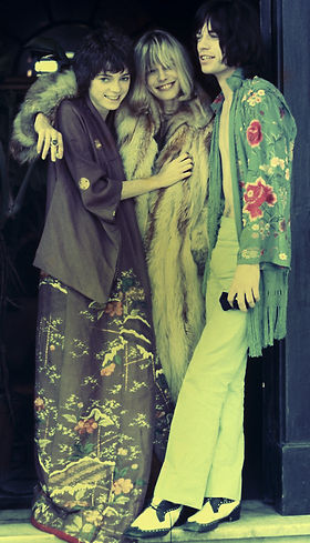 Michèle-Breton-Anita-Pallenberg-and-Mick