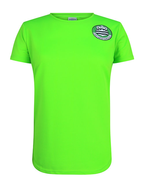 Chelmsford AC Ladies Hi-Viz Training T-Shirt