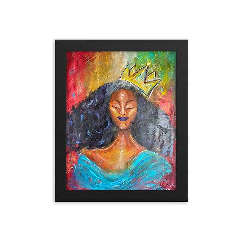 """Queendom"" Framed Print"