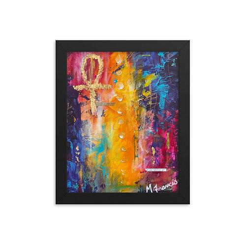 """""""Life II"""" Framed Print"""