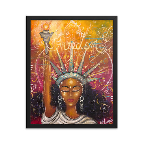 """Freedom"" Framed Print"
