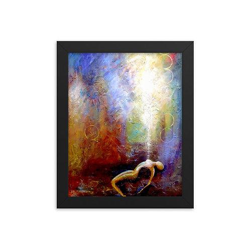 """Mercy"" Framed Print"