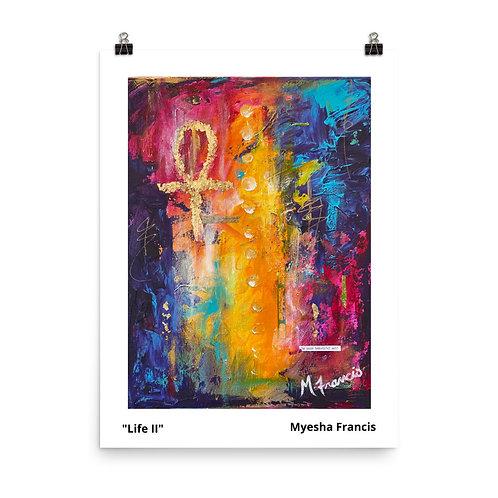 """""""Life II"""" Unframed Print"""