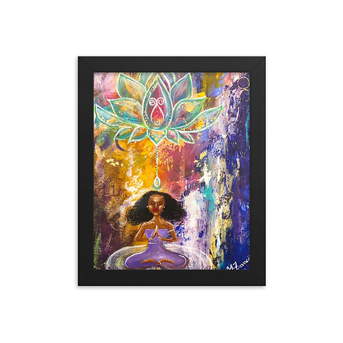 """Meditation"" Framed Print"