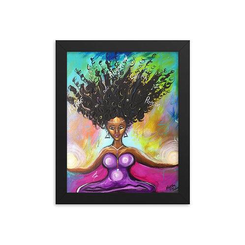 """""""Unleash Your Creativity"""" Framed Print"""