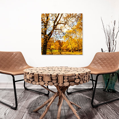 Square Wall Art - Central Park In Autumn