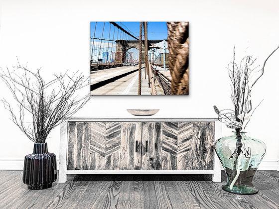 Landscape Wall Art - Brooklyn Bridge III