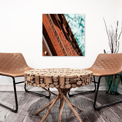 Square Wall Art - Firm Rust