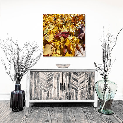 Square Wall Art -Sea of Leaves