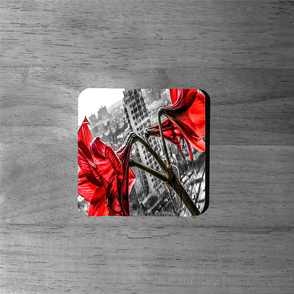 Concrete Lilies' - Cork Coasters