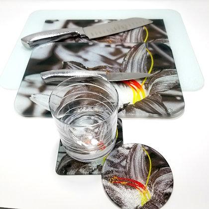 Kitchen/Dining Tabletop  Set - Fire Flower