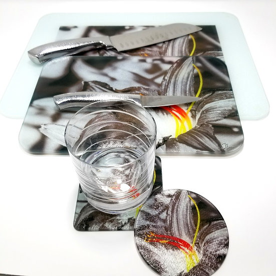 Kitchen/Dining Tabletop  Set - Fire Flower